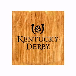Kentucky Derby Icon Coaster & Bottle Opener,KDERB-CST