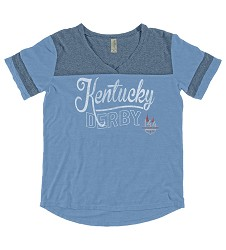 Kentucky Derby 144 Looker V-Neck Tee