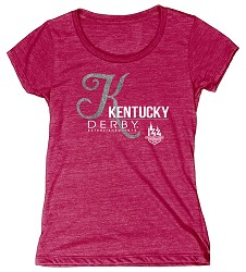 Kentucky Derby 144 Curves Tee