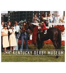 1977 Seattle Slew Photo,Derby Photos-1970s,#S-500-68