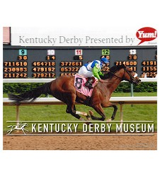 2006 Barbaro Finish Line Photo