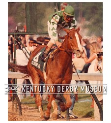 1980 Genuine Risk Vertical Racing Photo
