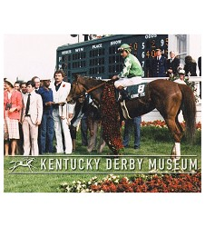 1980 Genuine Risk Winners Circle Photo