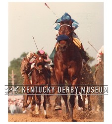 1985 Spend A Buck Vertical Racing Photo,#KD85-41