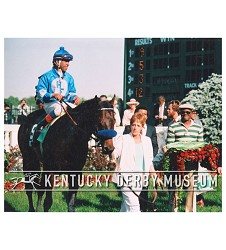 1985 Spend A Buck Winners Circle Photo