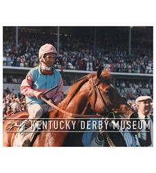 1986 Ferdinand With Bill Shoemaker Photo,#KD86-39