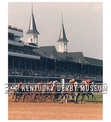 1987 Alysheba First Turn Photo
