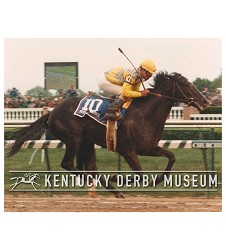 1989 Sunday Silence Finish Photo,#KD89-36