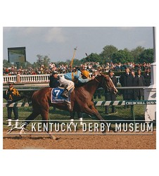 1990 Unbridled Finish Photo,#KD90-26