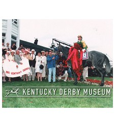 1997 Silver Charm Winners Circle Photo