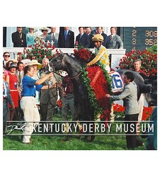 2001 Monarchos Winners Circle Photo