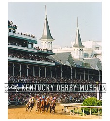 2003 Funny Cide First Turn Photo