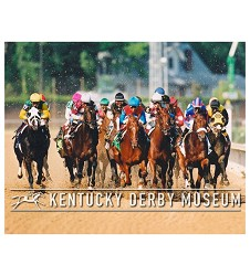 2003 Funny Cide Head On Photo,#129-680-37A
