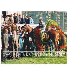 2003 Funny Cide Winners Circle Photo