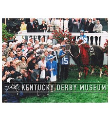 2004 Smarty Jones Winners Circle Photo,#130-21A