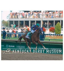 2014 California Chrome Stretch Run Photo