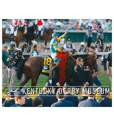 2015 American Pharoah To the Winners Circle Photo