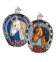 Winning Horse Vintage Ornament