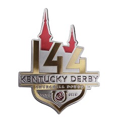 Kentucky Derby 144 3D Vinyl Magnet