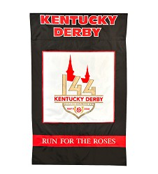 Kentucky Derby 144 Nylon Flag