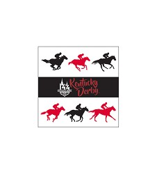 Kentucky Derby 144 Handle Napkins