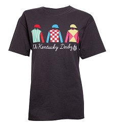 Kentucky Derby 144 Jockey Silks Tee