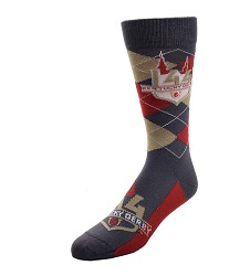 Kentucky Derby 144 Argyle Socks,505-7 889536269903
