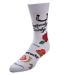 Kentucky Derby Collage Socks