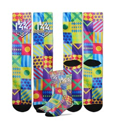 Kentucky Derby 144 Sublimated Silks Socks