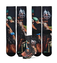 Kentucky Derby 144 Sublimated Starting Gate Socks