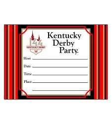 Kentucky Derby 144 Invitations