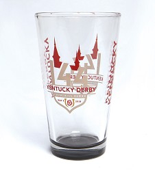 Kentucky Derby 144 Elite Pint Glass