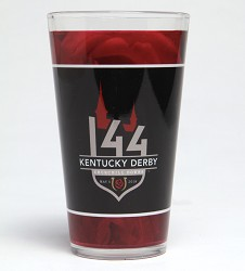 Kentucky Derby 144 Sublimated Pint Glass