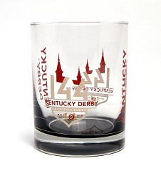 Kentucky Derby 144 Elite Rocks Glass
