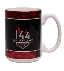 Kentucky Derby 144 Sublimated Mug