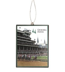 Kentucky Derby 144 Rectange Ornament