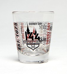 Kentucky Derby 144 Spirit Shot Glass