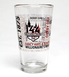 Kentucky Derby 144 Spirit Pint Glass