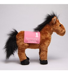 Kentucky Derby Standing Horse Plush,91313B CUSTOM