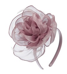 The Organza Rosette Fascinator