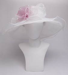 The Double Bow Organza Hat
