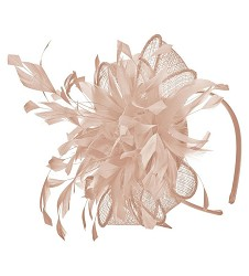 The Rolling Sinamay Headband Fascinator