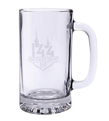 Kentucky Derby 144 Etched Beer Stein