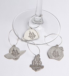 Kentucky Derby 144 Wine Charm Set