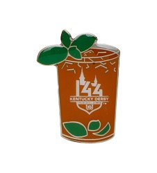 Kentucky Derby 144 Mint Julep Lapel Pin