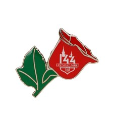 Kentucky Derby 144 Rose Lapel Pin