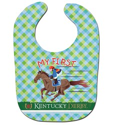 My First Derby Baby Bib