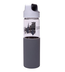 Churchill Downs Silicone Sleeved Glass Water Bottle