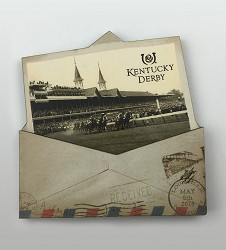 Kentucky Derby Vintage Envelope Magnet