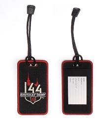 Kentucky Derby 144 Embroidered Luggage Tag
